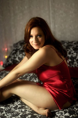 Camille Crimson actrice porno redhead