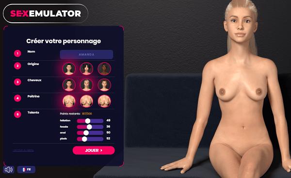 SexEmulator création gratuit