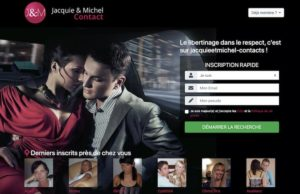 Site libertin Jacquie et Michel contact