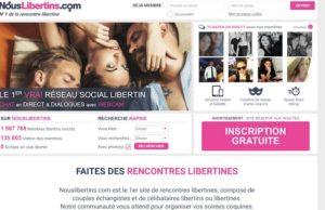 Site de rencontre libertin NousLibertins